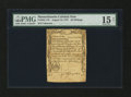 Colonial Notes:Massachusetts, Massachusetts August 18, 1775 20s PMG Choice Fine 15 NET....