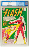 Silver Age (1956-1969):Superhero, The Flash #135 Western Penn pedigree (DC, 1963) CGC NM- 9.2 Off-white pages....