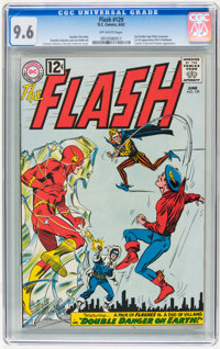 The Flash #129 (DC, 1962) CGC NM+ 9.6 Off-white pages