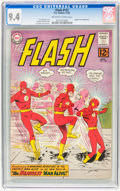 Silver Age (1956-1969):Superhero, The Flash #132 (DC, 1962) CGC NM 9.4 Off-white to white pages....
