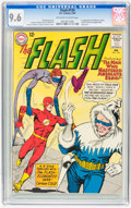 Silver Age (1956-1969):Superhero, The Flash #134 (DC, 1963) CGC NM+ 9.6 Off-white to white pages....