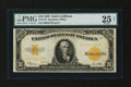 Large Size:Gold Certificates, Fr. 1173 $10 1922 Gold Certificate PMG Very Fine 25 Net....