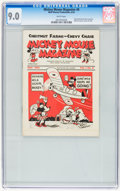 Platinum Age (1897-1937):Miscellaneous, Mickey Mouse Magazine Dairy Giveaway V1#8 (Walt Disney Productions,1934) CGC VF/NM 9.0 White pages....