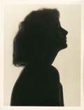 "Movie Posters:Drama, Greta Garbo by Ruth Harriet Louise (MGM, 1925). Silhouette Portrait(10"" X 13"").. ..."
