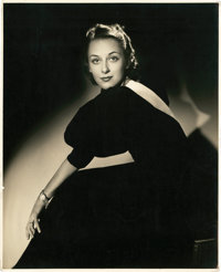 "Ann Dvorak by George Hurrell (1937). Portrait (8"" X 10"")"