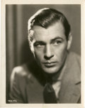 """Movie Posters:Miscellaneous, Gary Cooper (Paramount, 1930s). Portrait (8"""" X 10"""").. ..."""