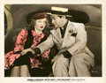 """Movie Posters:Crime, Bette Davis and Edward G. Robinson in """"Kid Galahad"""" (Warner Brothers, 1937). Color-Glos Still (8"""" X 10"""").. ..."""