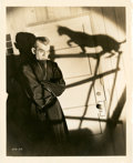 "Movie Posters:Horror, Boris Karloff in ""The Black Cat"" (Universal, 1934). Still (8"" X10"").. ..."