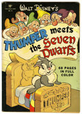 Golden Age (1938-1955):Cartoon Character, Four Color #19 Thumper Meets the Seven Dwarfs (Dell, 1943)Condition: Apparent FN....