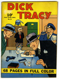 Golden Age (1938-1955):Crime, Four Color (Series One) #21 Dick Tracy (Dell, 1942) Condition: FN-....