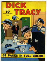 Four Color (Series One) #21 Dick Tracy (Dell, 1942) Condition: FN-