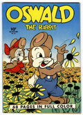 Golden Age (1938-1955):Funny Animal, Four Color #21 Oswald the Rabbit (Dell, 1943) Condition: FN+....