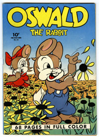 Four Color #21 Oswald the Rabbit (Dell, 1943) Condition: FN+