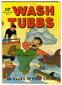 Four Color #11 Wash Tubbs (Dell, 1942) Condition: GD/VG