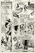 Original Comic Art:Panel Pages, Bernie Wrightson - Swamp Thing #5, page 12 Original Art (DC, 1972)....