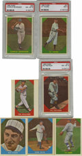 Baseball Cards:Sets, 1960 Fleer Baseball Greats Complete Set (79). The 1960 Fleer Baseball Greats set includes 78 cards of the game's stars from ...