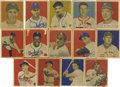 Baseball Cards:Sets, 1949 Bowman Baseball Partial Set (173/240). Nearly two-thirds of the set is present here, with an additional nine variation ...