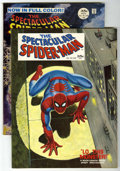 Magazines:Superhero, Spectacular Spider-Man #1 and 2 Group (Marvel, 1968) Condition:Average FN/VF.... (Total: 2)