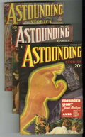 Pulps:Science Fiction, Astounding Stories Group (Street & Smith, 1935-37) Condition:Average VG.... (Total: 3)