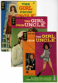 Silver Age (1956-1969):Miscellaneous, Girl From U.N.C.L.E. Group (Gold Key, 1967) Condition: AverageFN/VF.... (Total: 5)