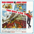 """Movie Posters:James Bond, You Only Live Twice (United Artists, 1967). Six Sheet (81"""" X 81"""")...."""