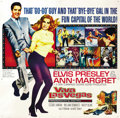 "Movie Posters:Elvis Presley, Viva Las Vegas (MGM, 1964). Six Sheet (81"" X 81""). ..."