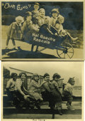 "Movie Posters:Short Subject, Our Gang Comedy Lot (MGM, 1929). Stills (2) (5"" X 7"") and Books (2)(6.5"" X 9"", 20 pages).... (Total: 4 Items)"