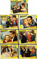 "Movie Posters:Drama, Flesh (MGM, 1932). Lobby Cards (7) (11"" X 14""). ... (Total: 7Items)"