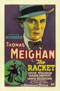 "Movie Posters:Crime, The Racket (Paramount, 1928). One Sheet (27"" X 41""). ..."