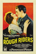 "Movie Posters:Western, The Rough Riders (Paramount, 1927). One Sheet (27"" X 41""). ..."