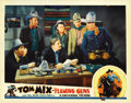 "Movie Posters:Western, Flaming Guns (Universal, 1932). Lobby Cards (2) (11"" X 14""). ...(Total: 2 Items)"