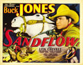 "Movie Posters:Western, Sandflow (Universal, 1937). Title Lobby Card (11"" X 14""). ..."