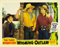 "Movie Posters:Western, Wyoming Outlaw (Republic, 1939). Lobby Cards (2) (11"" X 14""). ... (Total: 2 Items)"