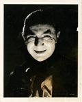 "Movie Posters:Horror, Bela Lugosi in ""Mark of the Vampire"" by Clarence Sinclair Bull(MGM, 1935). Portrait (8"" X 10"").. ..."