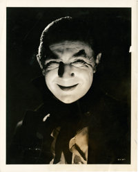 """Bela Lugosi in """"Mark of the Vampire"""" by Clarence Sinclair Bull (MGM, 1935). Portrait (8"""" X 10"""")"""