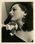 "Movie Posters:Drama, Joan Crawford by George Hurrell (MGM, 1930s). Portrait Still (8"" X10"").. ..."