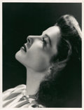 """Movie Posters:Miscellaneous, Katharine Hepburn by Clarence Sinclair Bull (MGM, 1940). Portrait Still (10"""" X 13"""").. ..."""