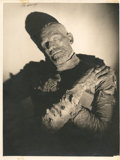 "Movie Posters:Horror, Boris Karloff in ""The Mummy"" by Roman Freulich (Universal, 1932).Portrait (10.25"" X 14"").. ..."