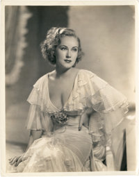 "Fay Wray in ""The Wedding March"" (Paramount, 1928). Stills (2) (8"" X 10""). ... (Total: 2 Items)"