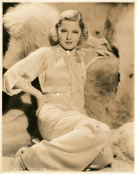 """Mary Carlisle (MGM and Paramount, 1930s). Portrait Stills (2) (8"""" X 10""""). ... (Total: 2 Items)"""