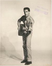 "Elvis Presley in ""G.I. Blues"" (Paramount, 1960). Proof Still (7.5"" X 9.5"")"