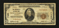 National Bank Notes:Kentucky, Morganfield, KY - $20 1929 Ty. 1 The Morganfield NB Ch. # 7490. ...