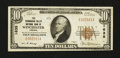 National Bank Notes:Virginia, Winchester, VA - $10 1929 Ty. 1 The Shenandoah Valley NB Ch. #1635. ...