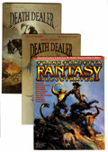Magazines:Miscellaneous, Frank Frazetta Related Magazines Box Group (Various Publishers,1960s-80s)....