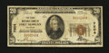 National Bank Notes:Colorado, Fort Morgan, CO - $20 1929 Ty. 1 The First NB Ch. # 7004. ...