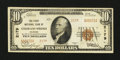 National Bank Notes:Colorado, Colorado Springs, CO - $10 1929 Ty. 2 The First NB Ch. # 2179. ...