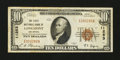 National Bank Notes:Colorado, Longmont, CO - $10 1929 Ty. 1 FNB of Longmont Ch. # 11253. ...
