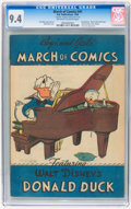Golden Age (1938-1955):Funny Animal, March of Comics #41 (K. K. Publications, Inc., 1949) CGC NM 9.4Off-white to white pages....