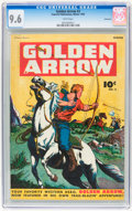 Golden Age (1938-1955):Western, Golden Arrow #3 Vancouver pedigree (Fawcett, 1945) CGC NM+ 9.6White pages....