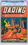 Golden Age (1938-1955):Superhero, Daring Mystery Comics #1 (Timely, 1940) CGC FN/VF 7.0 Off-white pages....
